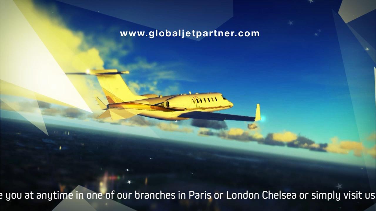 Vidéo promotionnel Global Jet Partner entreprise